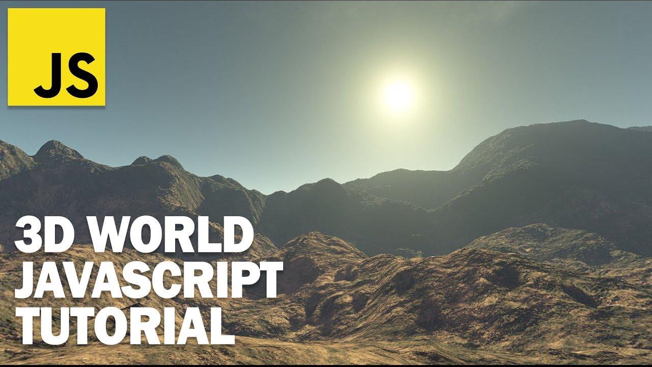 Create JavaScript 3D World in 5 Minutes - Three.js Skybox Tutorial