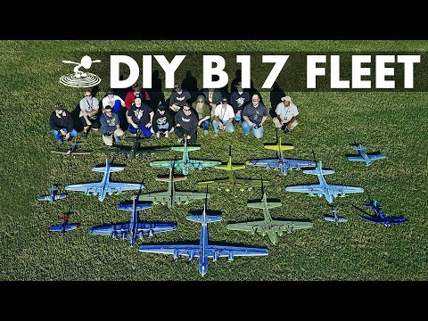 giant-fleet-of-diy-b17-bombers