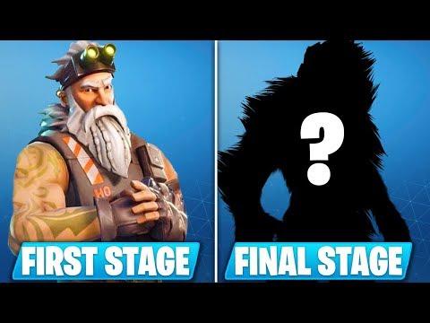 New Season 7 Final Stage Skin Revealed Fortnite Battle Royale