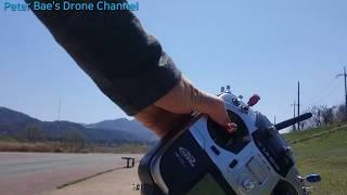 #13 Racing drone acro mode practice(Low altitude rotation)레이싱 드론 아크로 모드 비행연습(낮은 고도 회전)