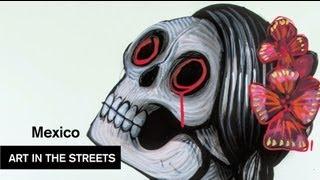 Global Street Art - Mexico City - Saner MXDF - MOCAtv