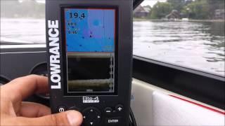 Elite-4 dsi chartplotter and downscan sonar