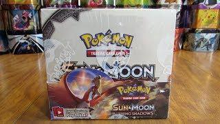 Pokemon Burning Shadows Booster Box Opening Pt. 1