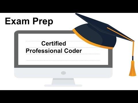 Certified Professional Coder Exam Prep - YouTube