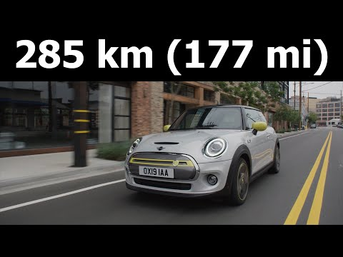 MINI Cooper SE electric range real-life test (mostly in a city), mpkWh, kWh/100 km mi :: [1001cars]