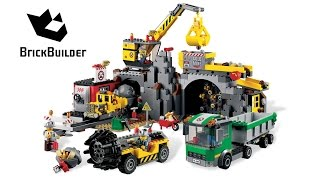Lego City 4204 The Mine – Lego Speed Build