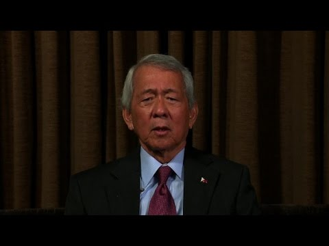Amanpour interviews Philippines Foreign Minister Yasay