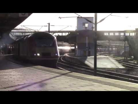 East Coast Main Line passenger services at York 17th January…