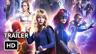 Сериалы CW, DCTV Crisis on Infinite Earths Crossover Final Trailer (HD)