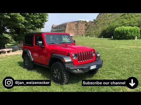 "Im 2019 Jeep Wrangler JL 2.0 T-GDI (272 PS) ""Rubicon"" auf die Burg 🌳⛰- Fahrbericht | Review | POV."