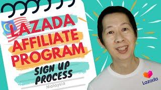 Lazada Affiliate Program Malaysia Sign Up Process [2020]