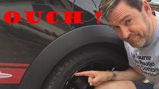 How to fix a curbed wheel !