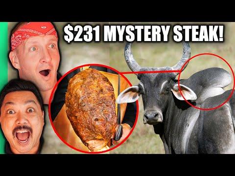 $2 Steak VS $231 Steak!! The Cow Part You've NEVER SEEN Before!!