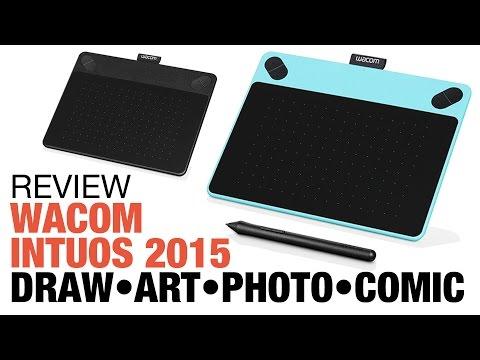 Review: Wacom Intuos 2015 tablet: Draw Art Photo Comic