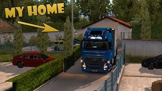 ETS2 Parking at my Home (Euro Truck Simulator 2)