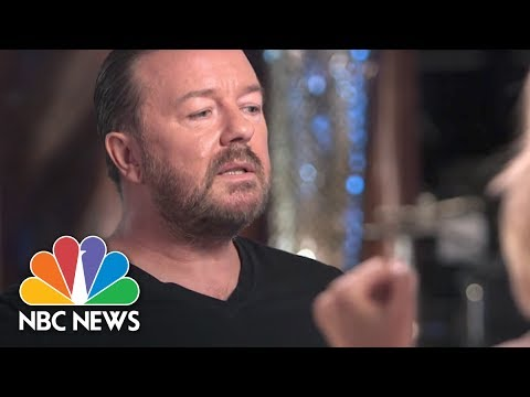 "Actor And Comedian Ricky Gervais Opens Up on Why He Has ""To Play the Outsider"" 