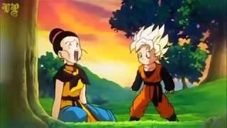Chi Chi teaches Goten after Goku dies