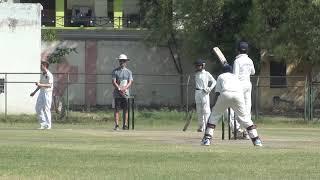 U-14 playing T20 game 2019