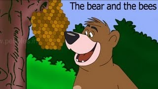 The bear and the bees - Aesop Stories - English