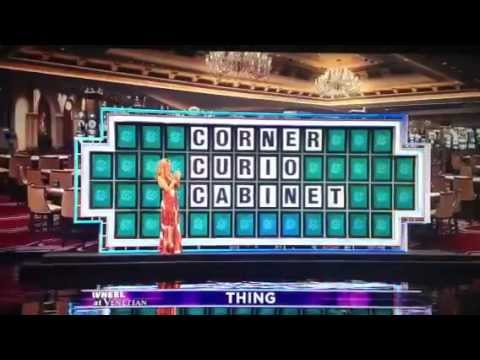 Wheel Of Fortune 1 Million Dollar Loss Corner Curio Cabinet Mp3