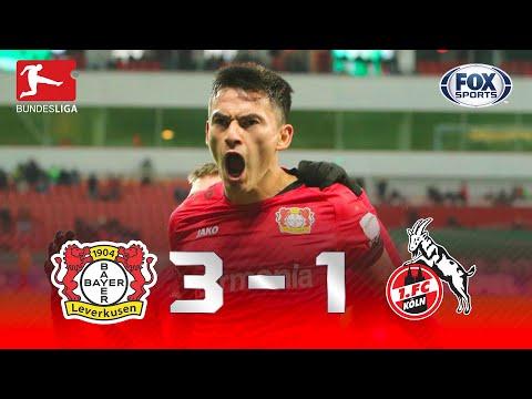 SHOW DE DIABY E GOL DE HAVERTZ! Melhores momentos de Bayer Leverkusen 3 x 1 Colônia pela Bundesliga