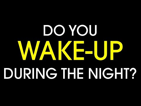 Get Out Of Bed And Keep Your Hands Busy If You Wake Up At Night
