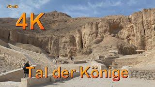 Tal der Könige bei Ägypten Nilkreuzfahrt in 4K Ultra HD.