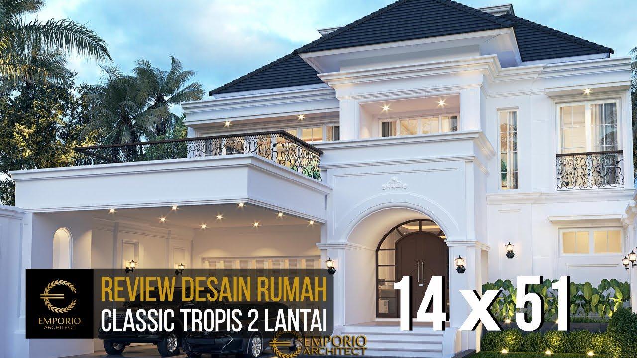 Video 3D Desain Rumah Classic 2 Lantai Bapak Ridwan di Bandung, Jawa Barat