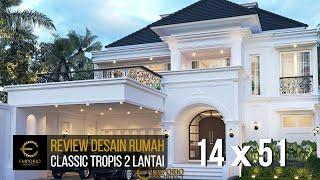 Video Desain Rumah Classic 2 Lantai Bapak Ridwan di  Bandung, Jawa Barat