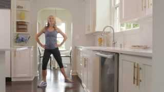 10-Minute Kitchen Cardio with Sadie Lincoln of barre3 by The Body Book