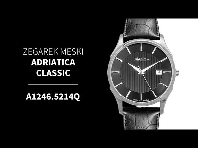 Adriatica A1243.5223QS Zegarek • Zegarownia.pl