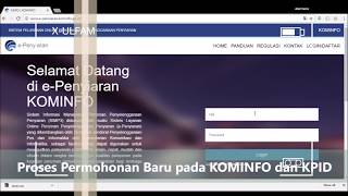 SIMP3 e-penyiaran
