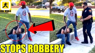 UFC Middleweight Kevin Holland chases and stops a man who was trying to steal a car,Tony Ferguson