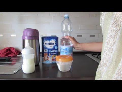 Preparazione del latte in polvere | powermamy