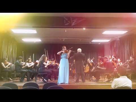 Valeria Ortega-Palacio/Soloist.A.Vivaldi- Winter, II movement: Largo./ Valeria Ortega-Palacio.