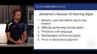 Alzheimer Awareness: 10 Warning Signs of Alzheimer's Disease