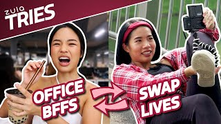 Office BFFs Swap Lives For A Day + GIVEAWAY | ZULA Tries | EP 29