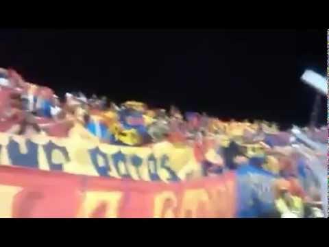 """""""La Banda Tricolor Presente En Tlulua"""" Barra: La Banda Tricolor • Club: Deportivo Pasto"""
