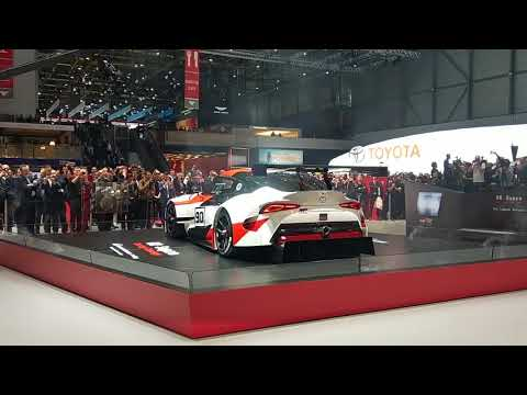 New Toyota Supra GR Concept