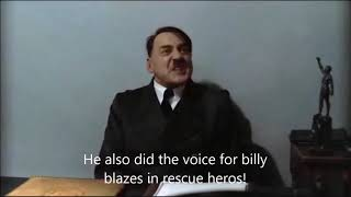 Hitler is informed that Norm Spencer has died