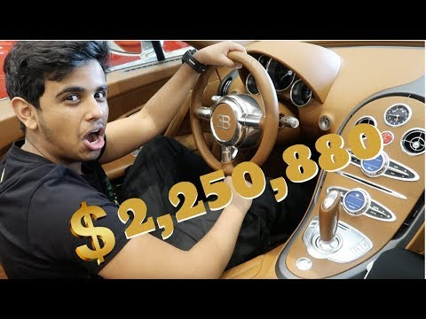 MOST EXPENSIVE CAR COLLECTION !!! BUGATTI