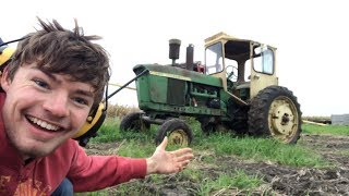 Tractor's First Voyage In 15 Years!