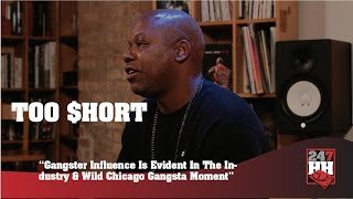 Too $hort - Chicago Is A Gangsta City For Real (247HH Wild Tour Stories)