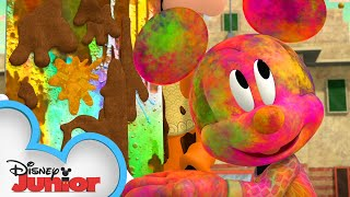 Holi, By Golly | Mickey Mouse Mixed-Up Adventures | @Disney Junior