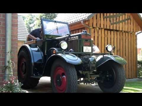 Lanz Bulldog D9538 - 38 PS Eilbulldog Bj. 1935 Start