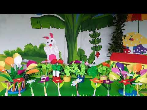 Truyện : Thỏ con không vâng lời- lớp 3 tuổi.