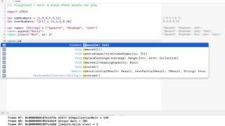 Arrays in Swift 3.0