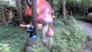 preview picture of video 'Hasen und Igelbahn im Freizeitpark Märchenwald in Wolfratshausen'