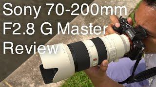 Sony 70-200mm F2.8 G Master Review   John Sison