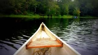 Canoeing In Canada ~ HD Nature ~ Relaxing River Sights And Sounds While Paddling